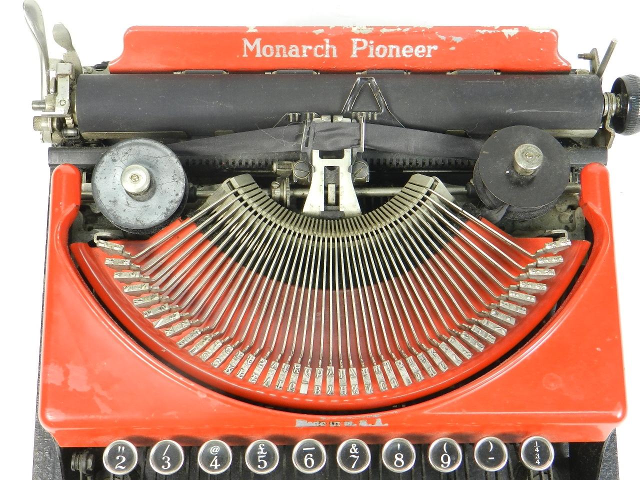 Imagen REMINGTON MONARCH PIONEER AÑO 1932 29930