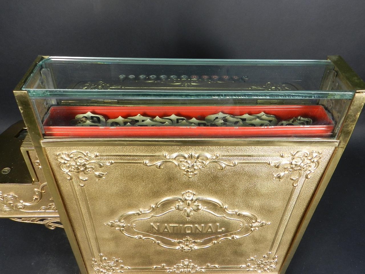 Imagen REGISTRADORA NATIONAL 345-G  AÑO 1895 30073