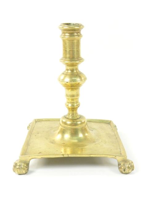 CANDELABRO BRONCE SIGLO XVIII