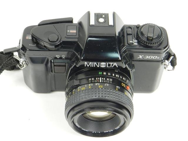 Minolta X300s 35 mm SLR