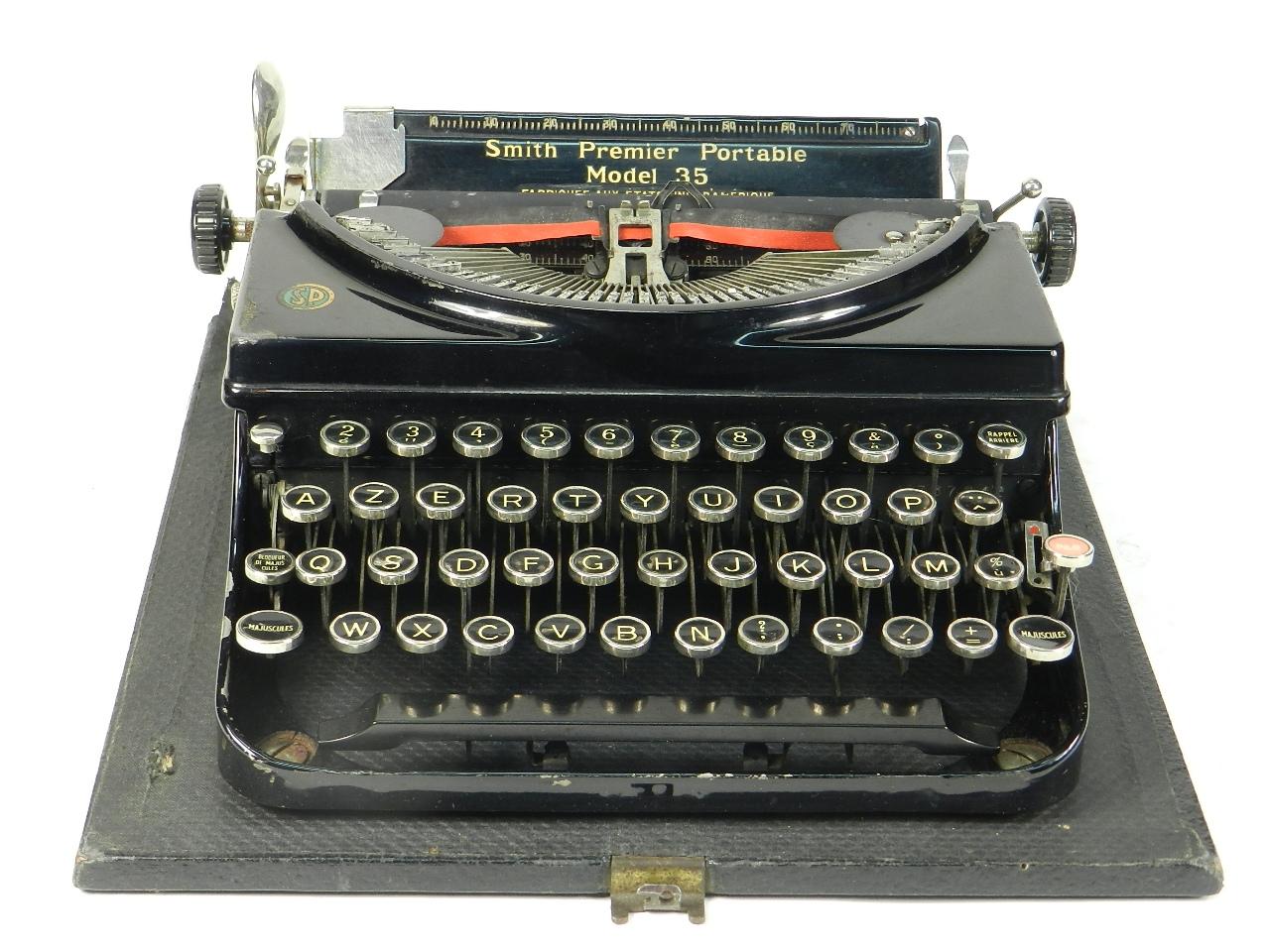Imagen SMITH PREMIER MODEL 35 AÑO 1935 30473