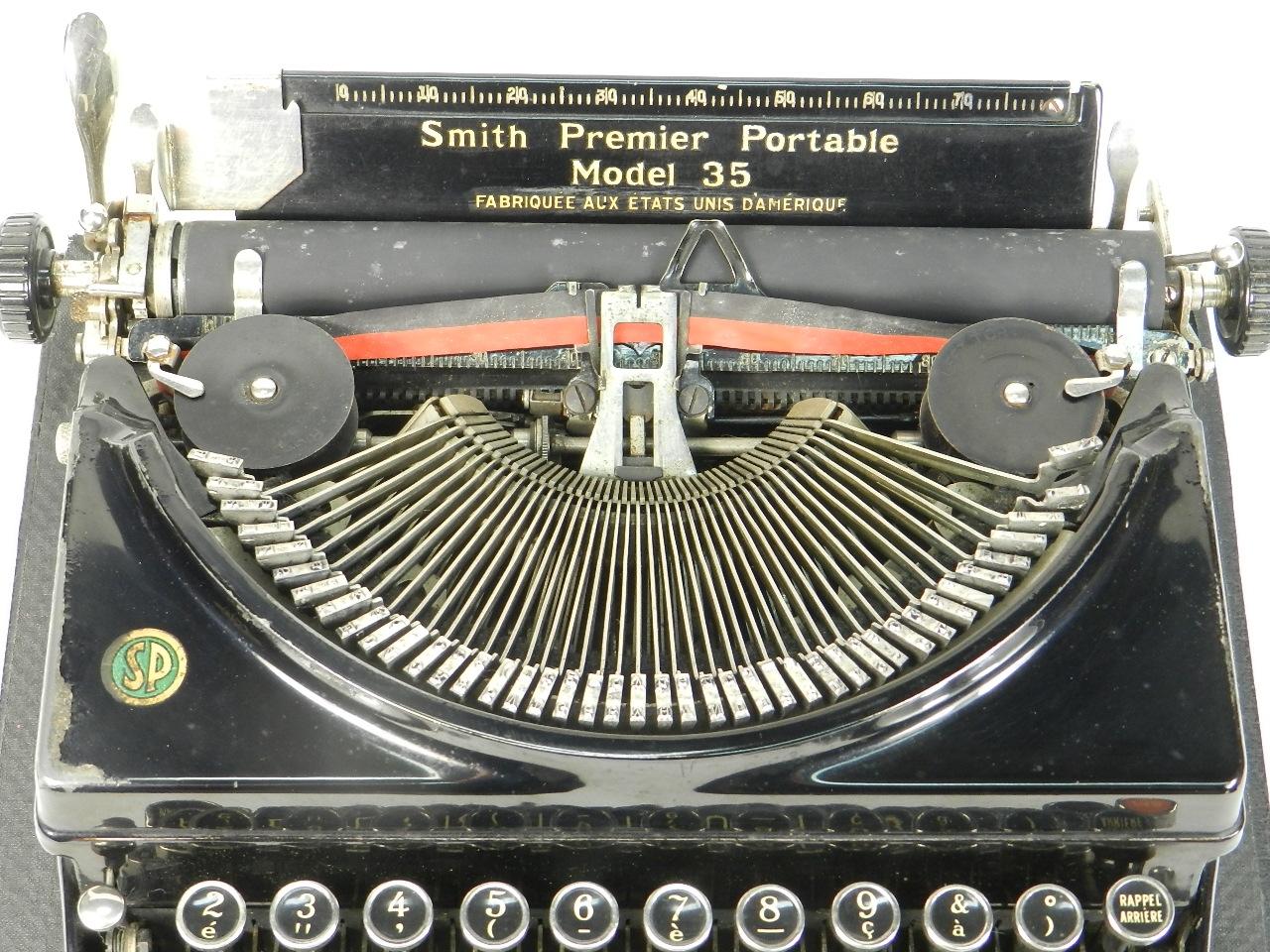 Imagen SMITH PREMIER MODEL 35 AÑO 1935 30476
