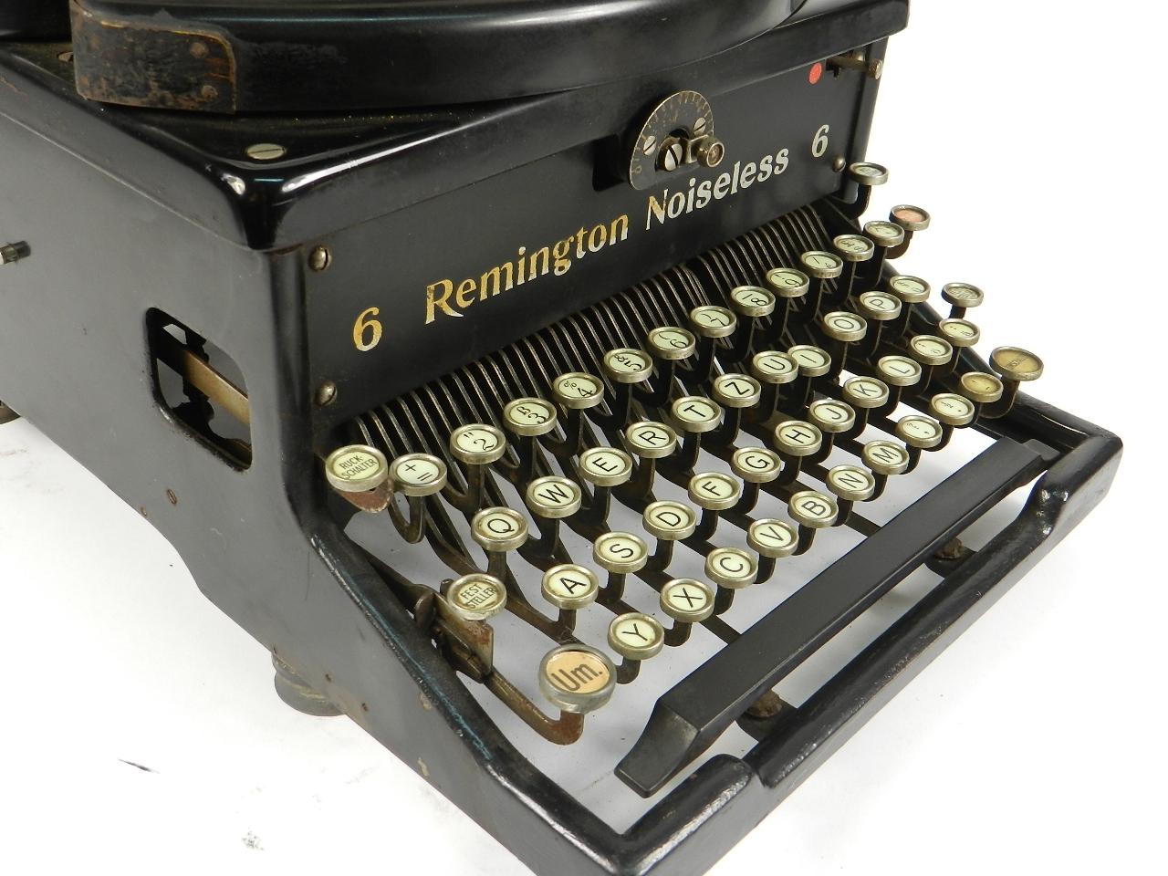 Imagen REMINGTON NOISELESS Nº6 AÑO 1930 30792