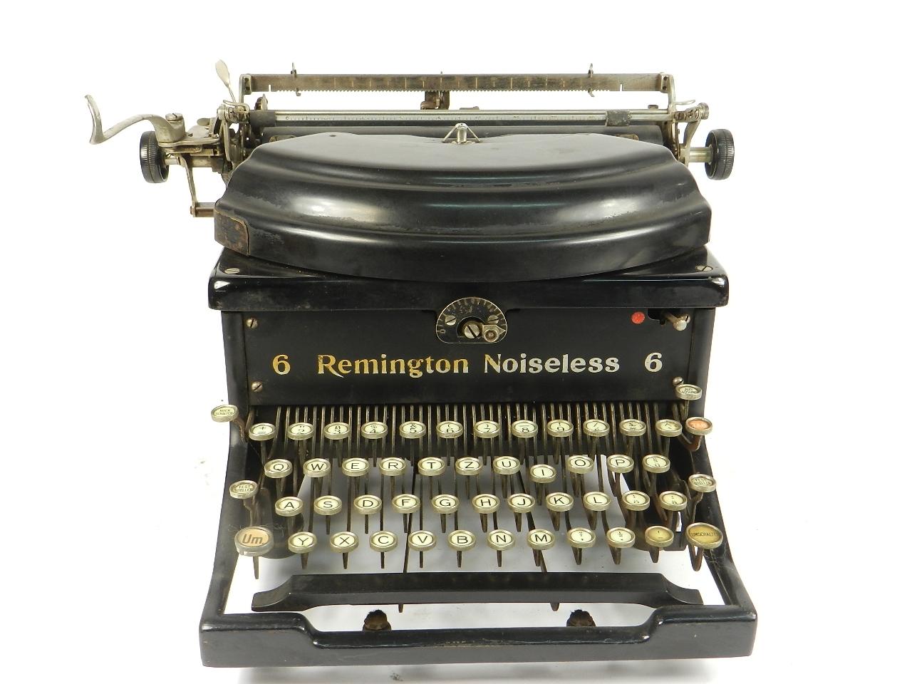 Imagen REMINGTON NOISELESS Nº6 AÑO 1930 30795