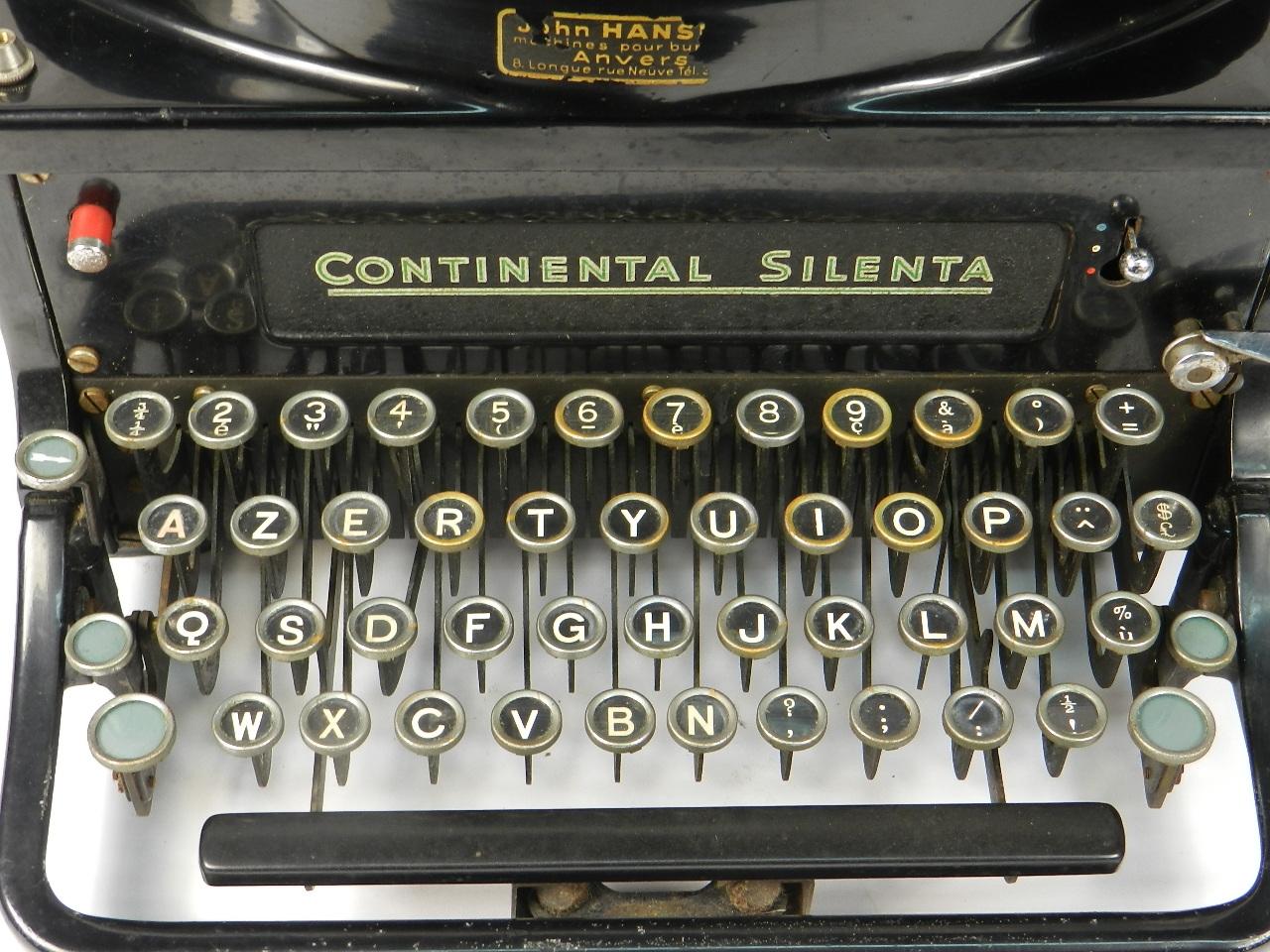Imagen CONTINENTAL SILENTA AÑO 1938 30898