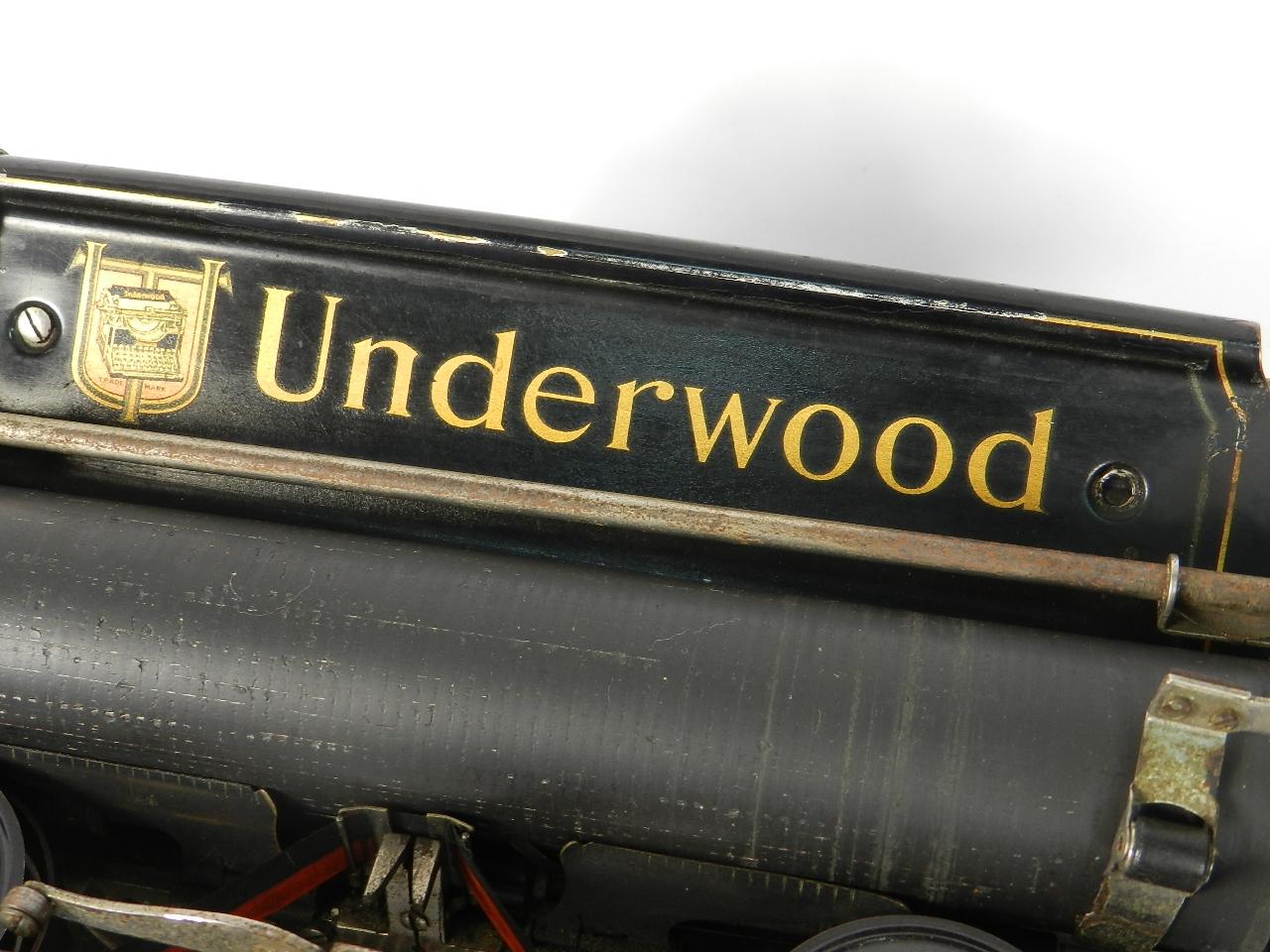 Imagen UNDERWOOD Nº5 AÑO 1915 30910