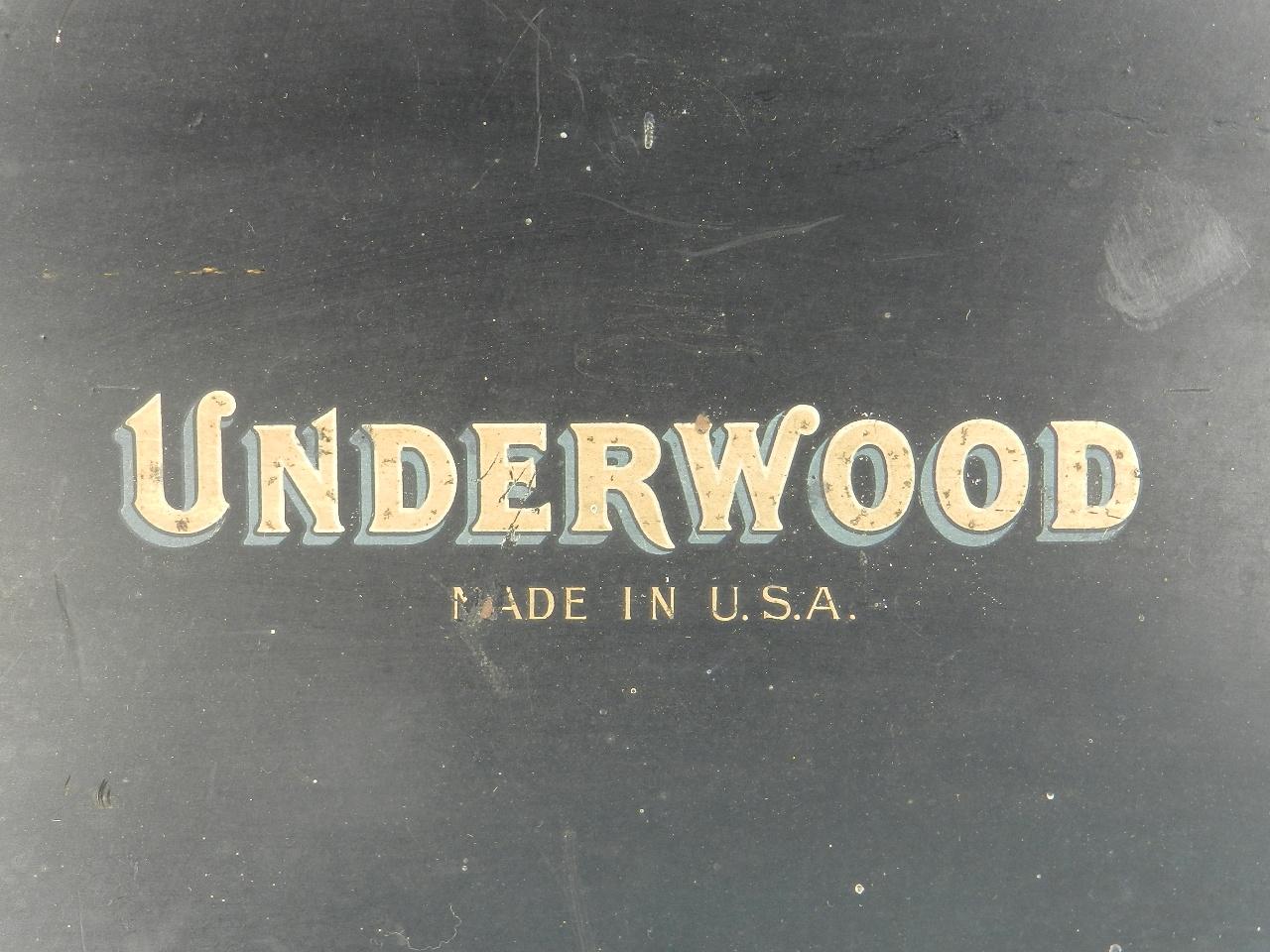 Imagen UNDERWOOD  Nº5  AÑO 1918 30917