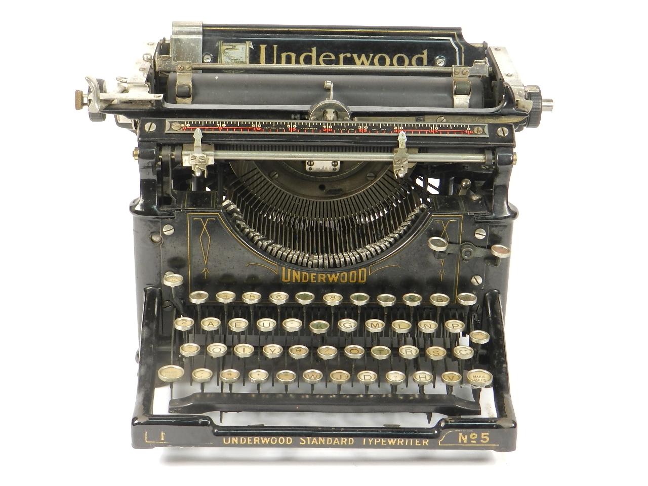 Imagen UNDERWOOD  Nº5  AÑO 1918 31096
