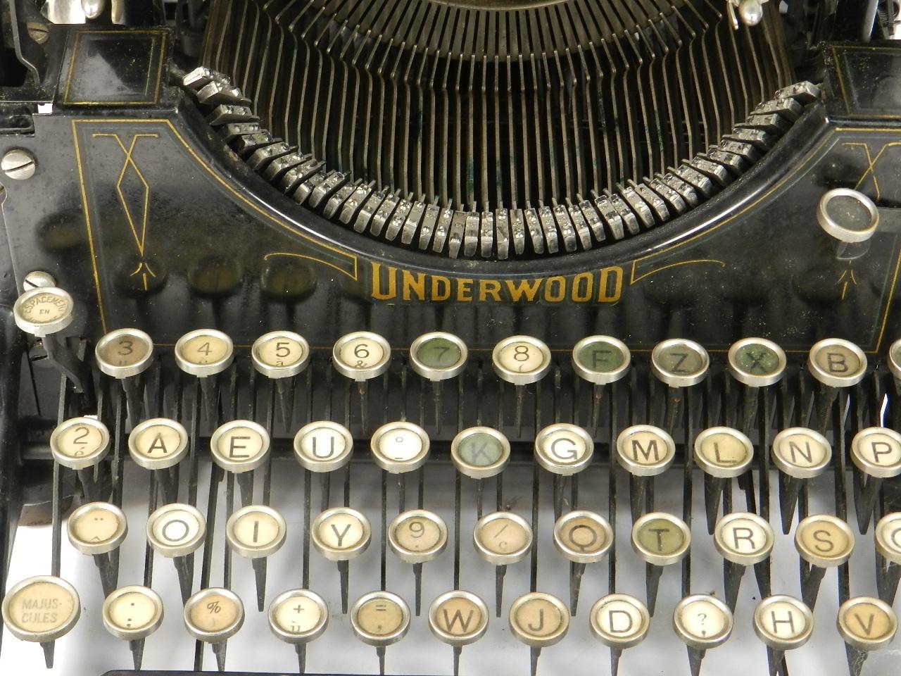 Imagen UNDERWOOD  Nº5  AÑO 1918 31098