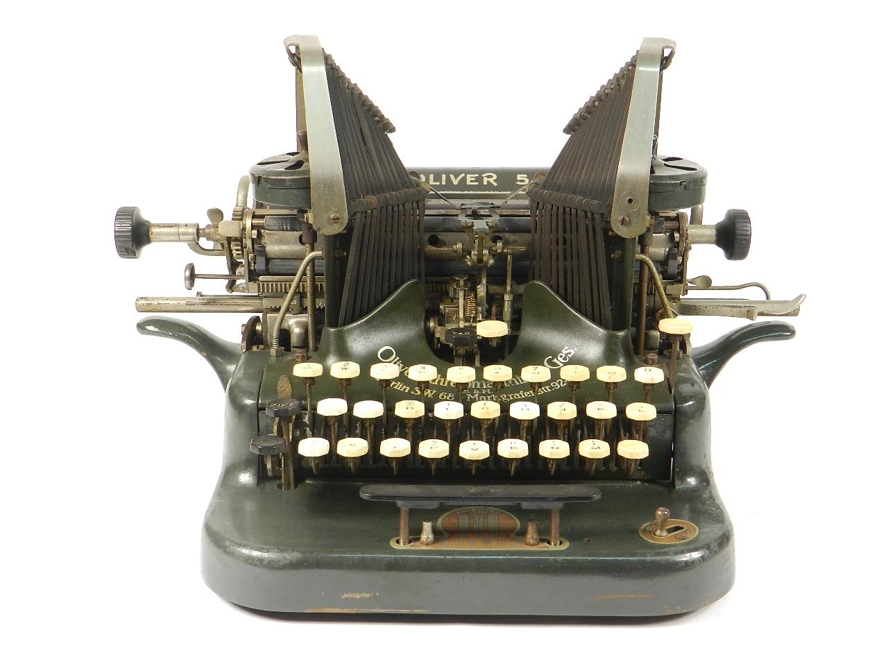Imagen OLIVER Nº5  AÑO 1910 31152