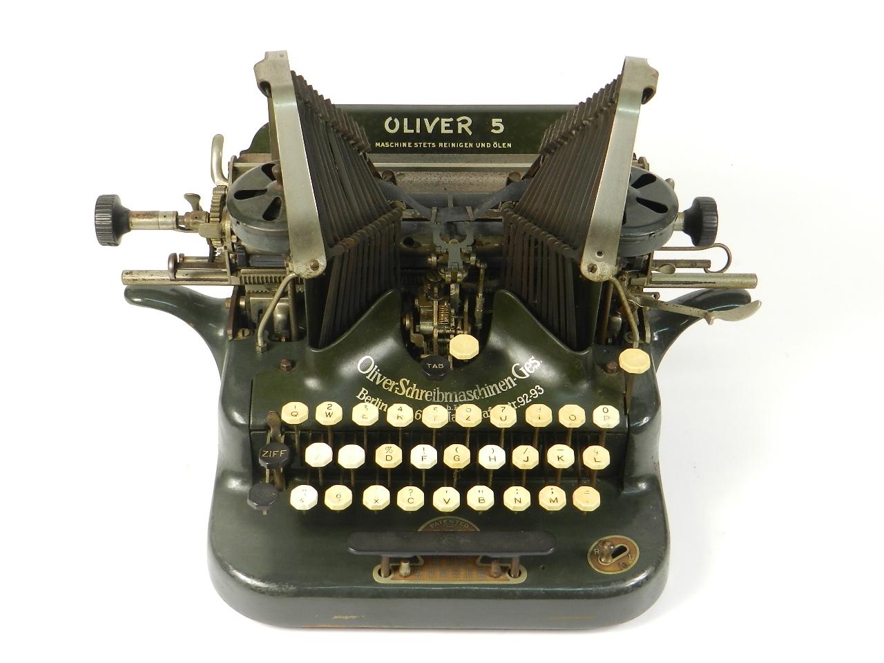 Imagen OLIVER Nº5  AÑO 1910 31153