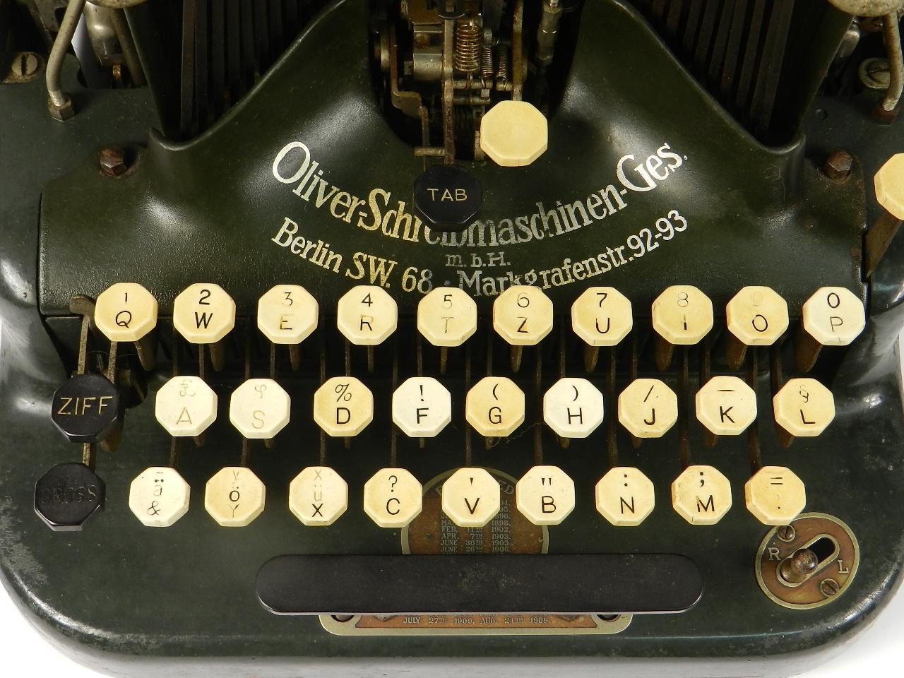 Imagen OLIVER Nº5  AÑO 1910 31156