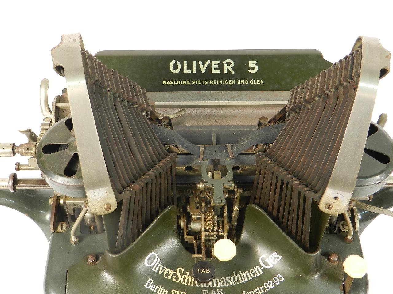 Imagen OLIVER Nº5  AÑO 1910 31158