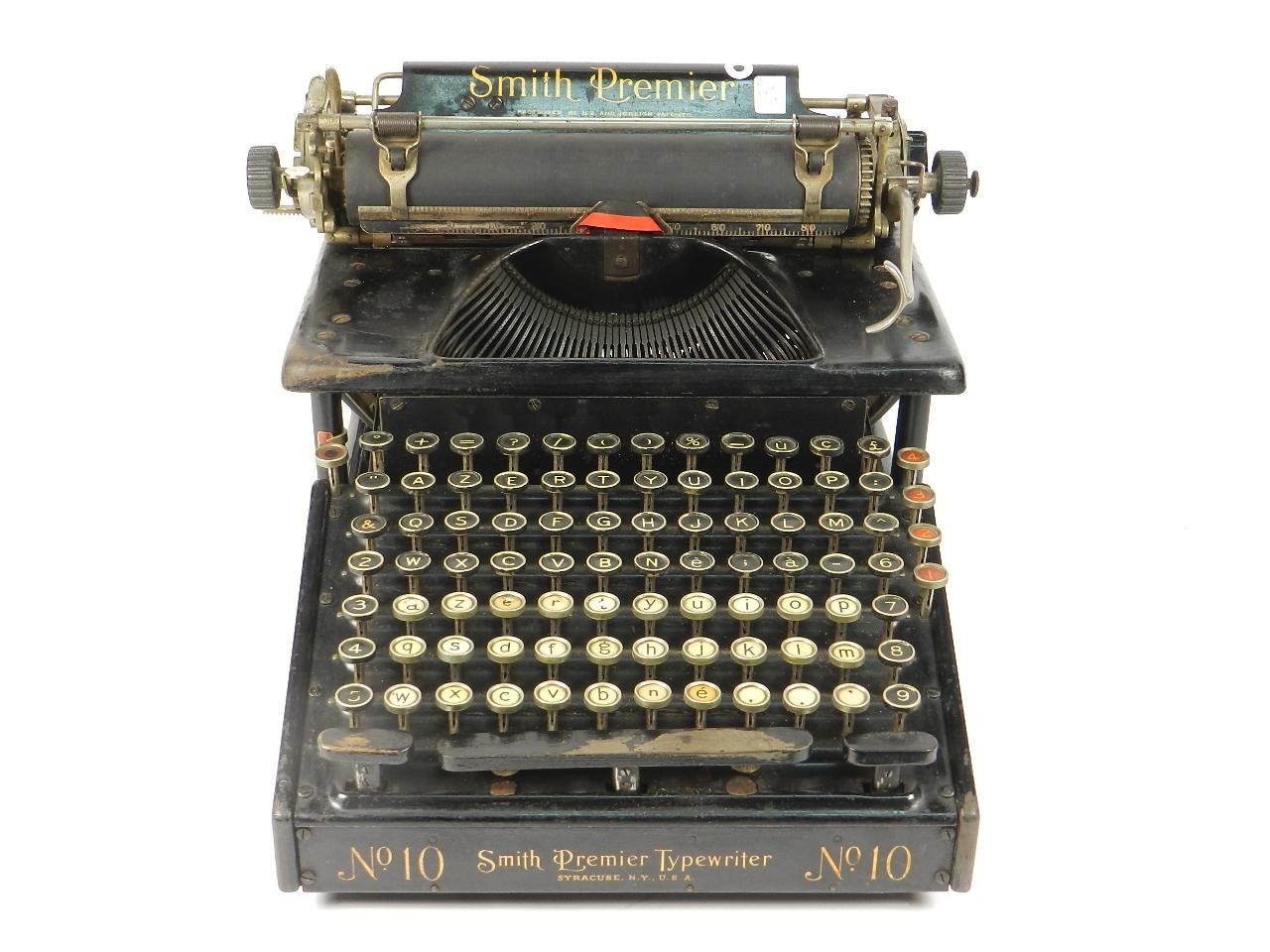 Imagen SMITH PREMIER 10  AÑO 1920 31192