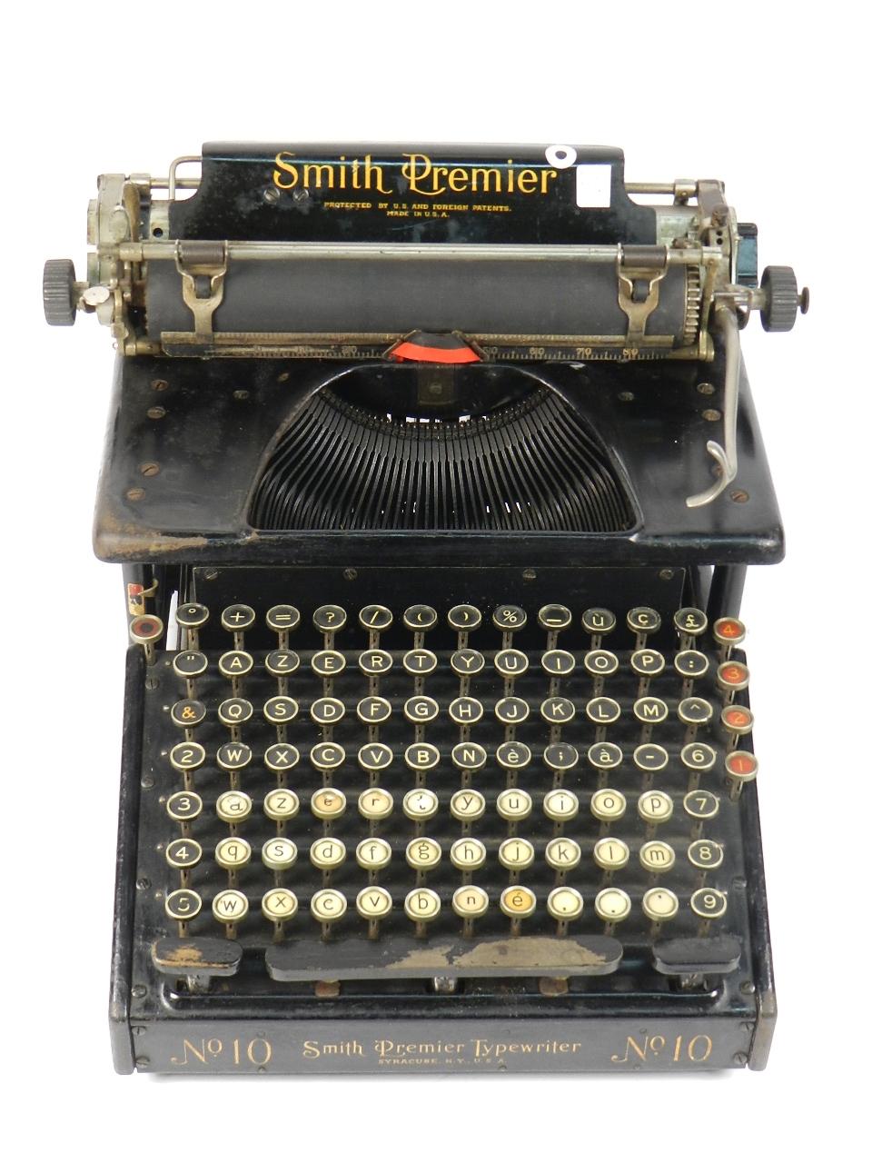 Imagen SMITH PREMIER 10  AÑO 1920 31193