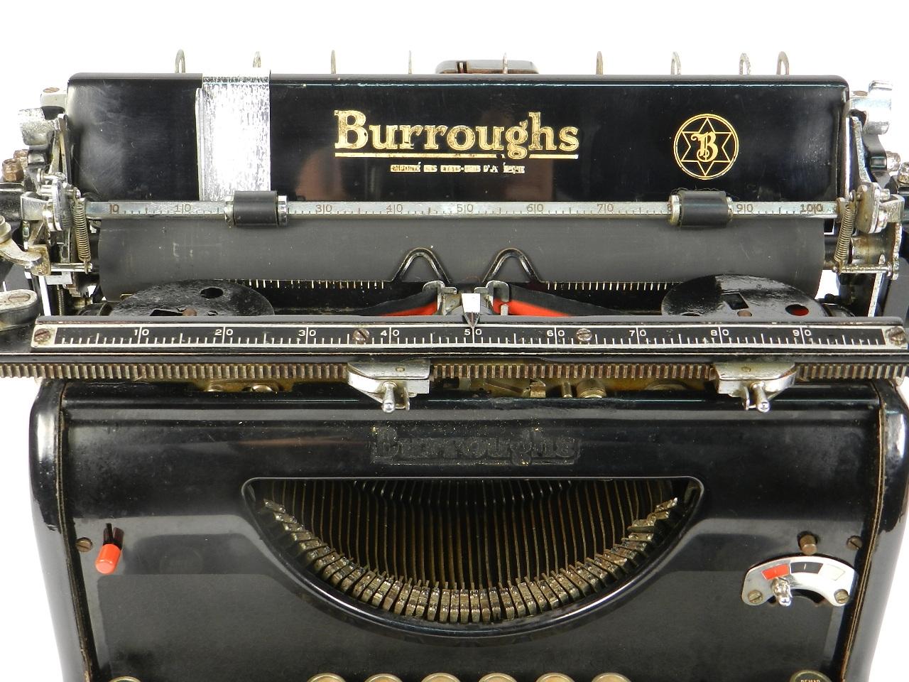 Imagen BURROUGHS STANDARD AÑO 1932 31212