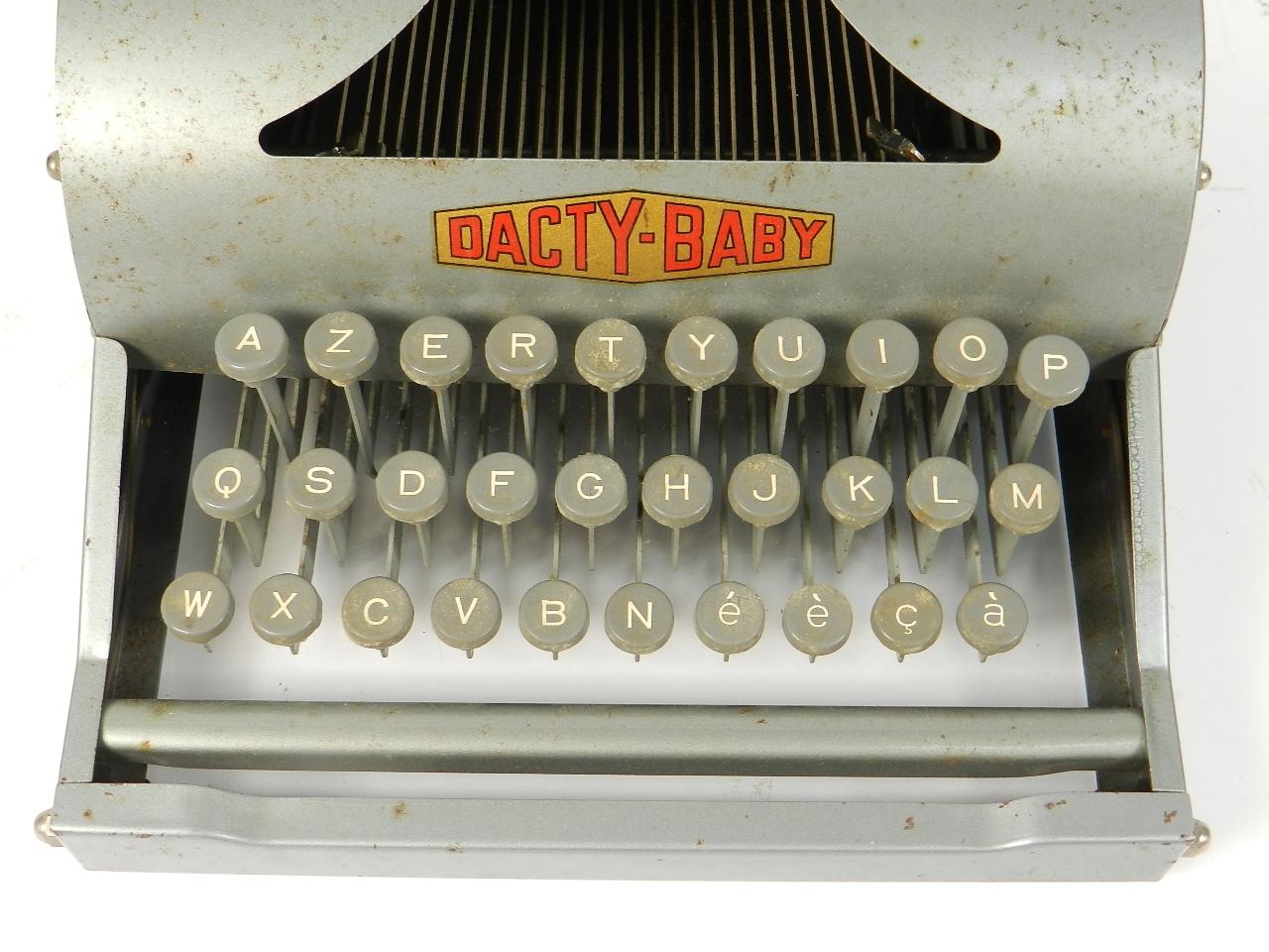 Imagen DACTY BABY AÑO 1950 31267