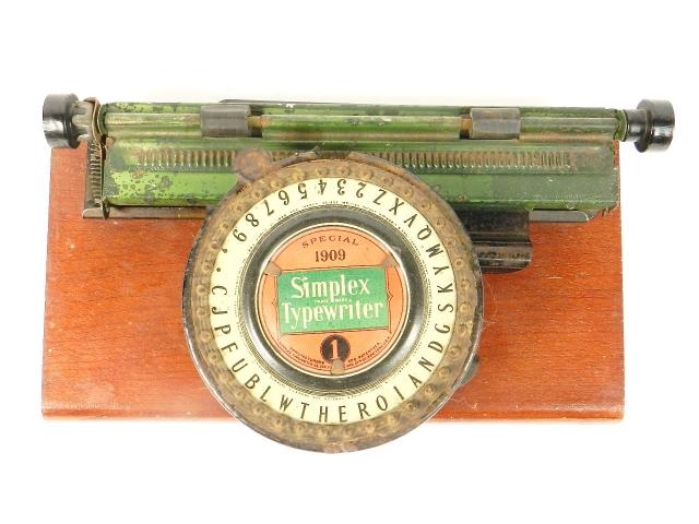 SIMPLEX Nº1 SPECIAL 1909