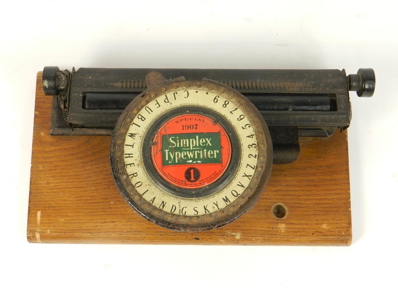 Imagen SIMPLEX Nº1 SPECIAL 1907 31287