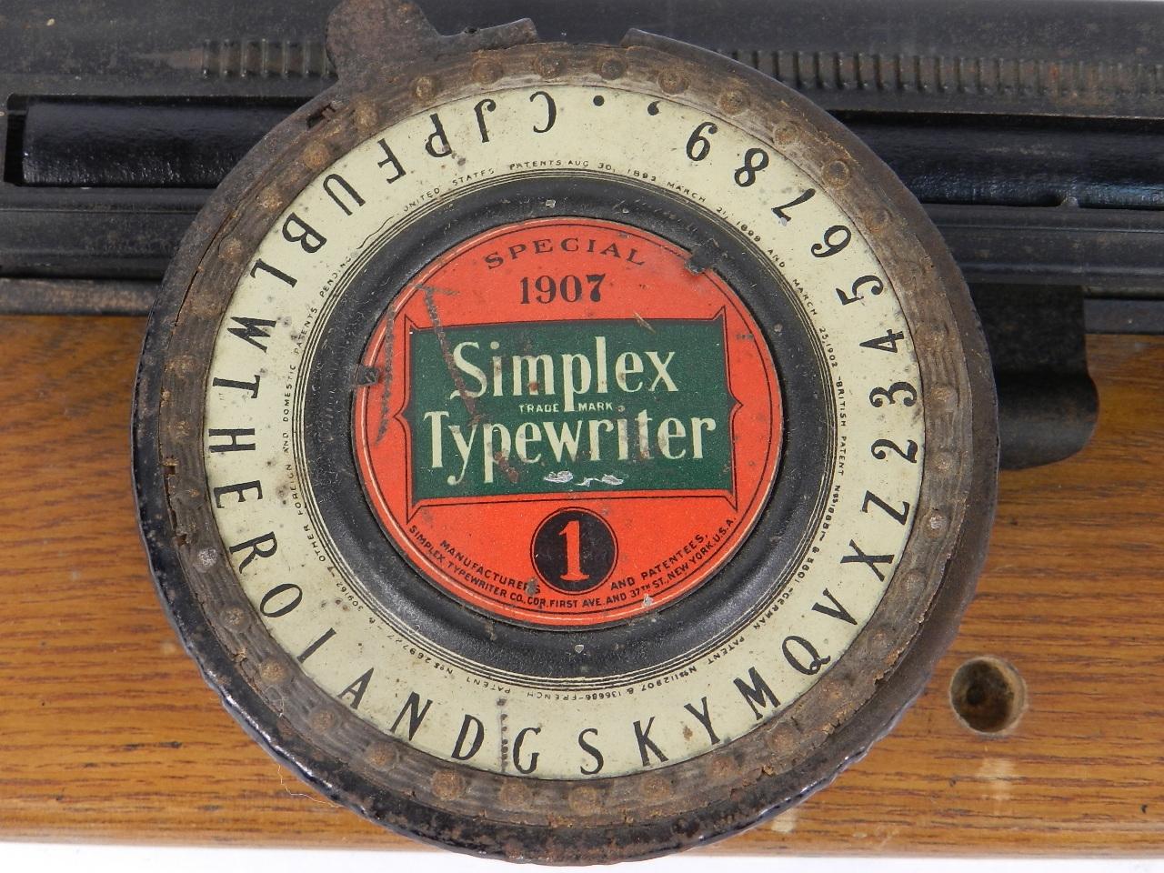 Imagen SIMPLEX Nº1 SPECIAL 1907 31288