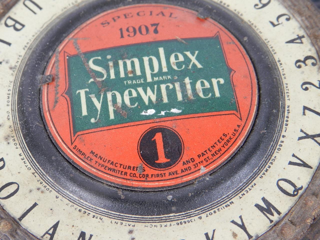 Imagen SIMPLEX Nº1 SPECIAL 1907 31289