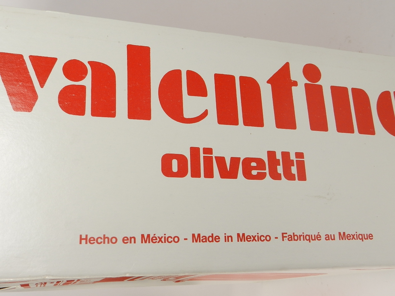 Imagen OLIVETTI VALENTINE  AÑO 1989 31323