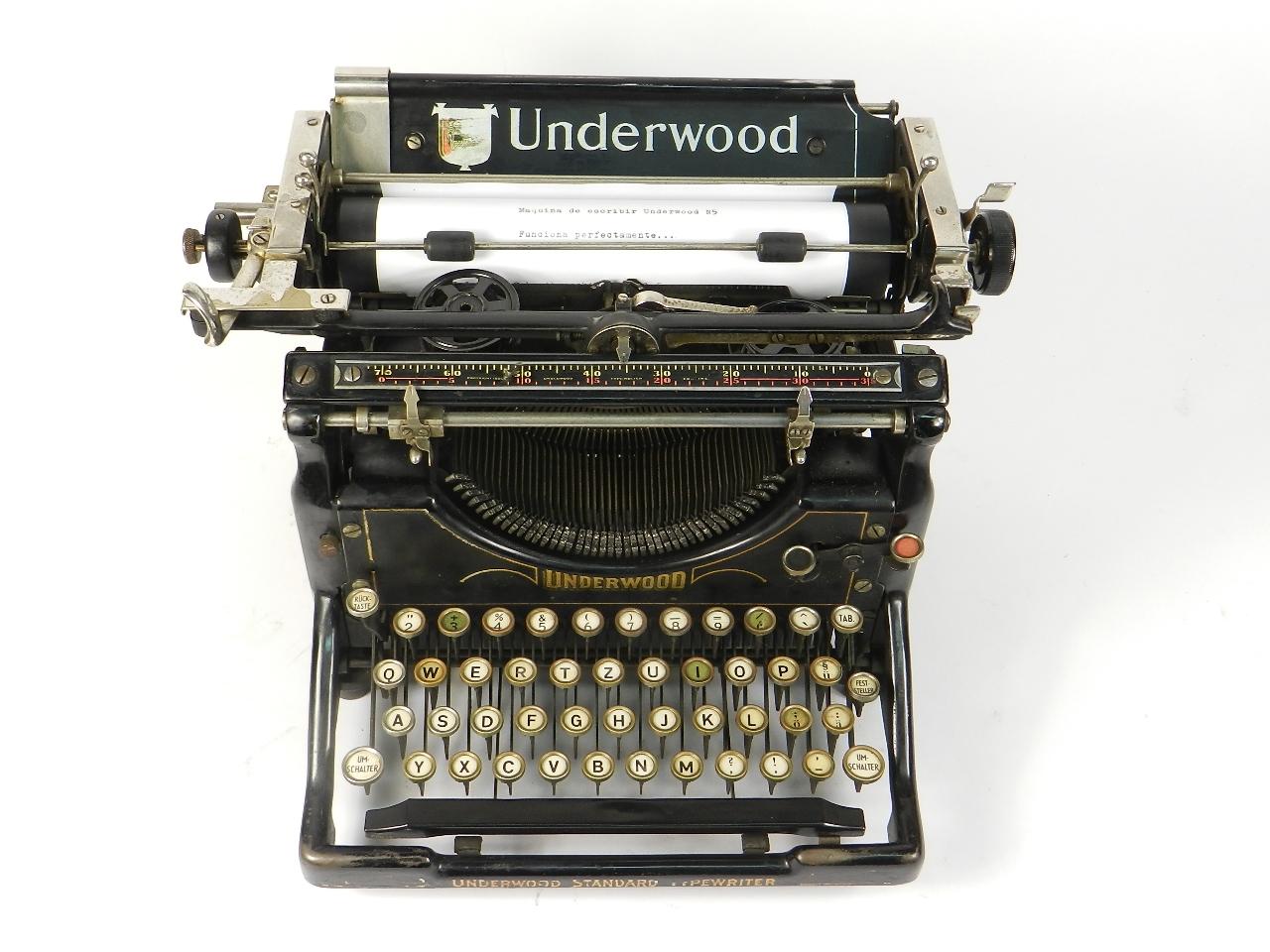 Imagen UNDERWOOD  Nº5  AÑO 1916 31340