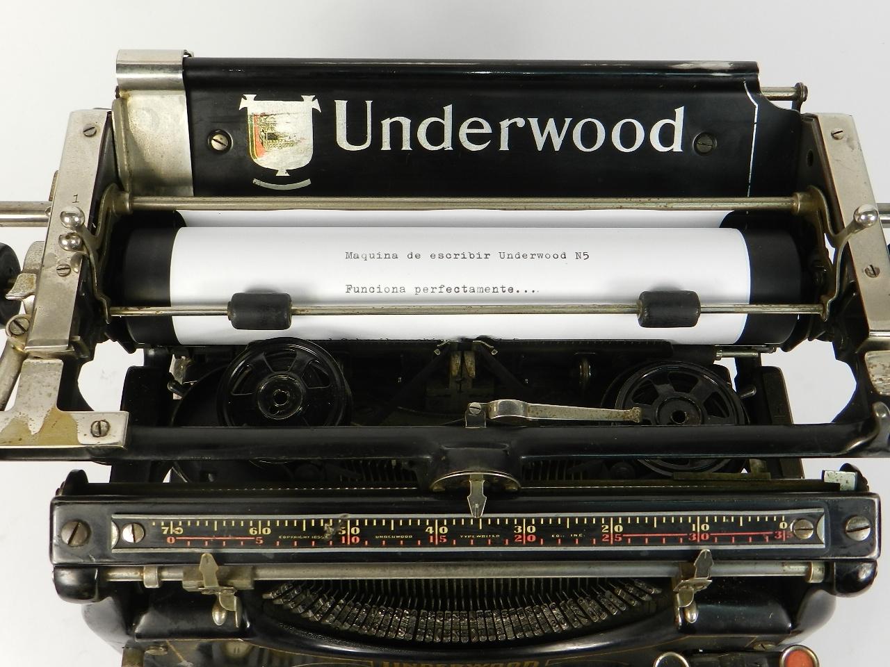 Imagen UNDERWOOD  Nº5  AÑO 1916 31344