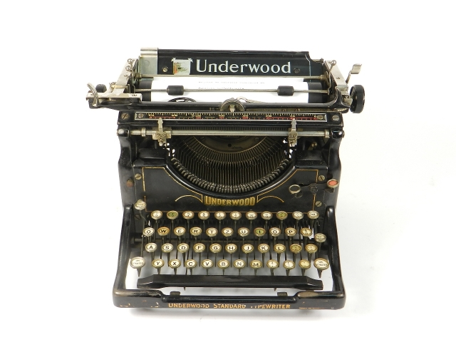 UNDERWOOD  Nº5  AÑO 1916
