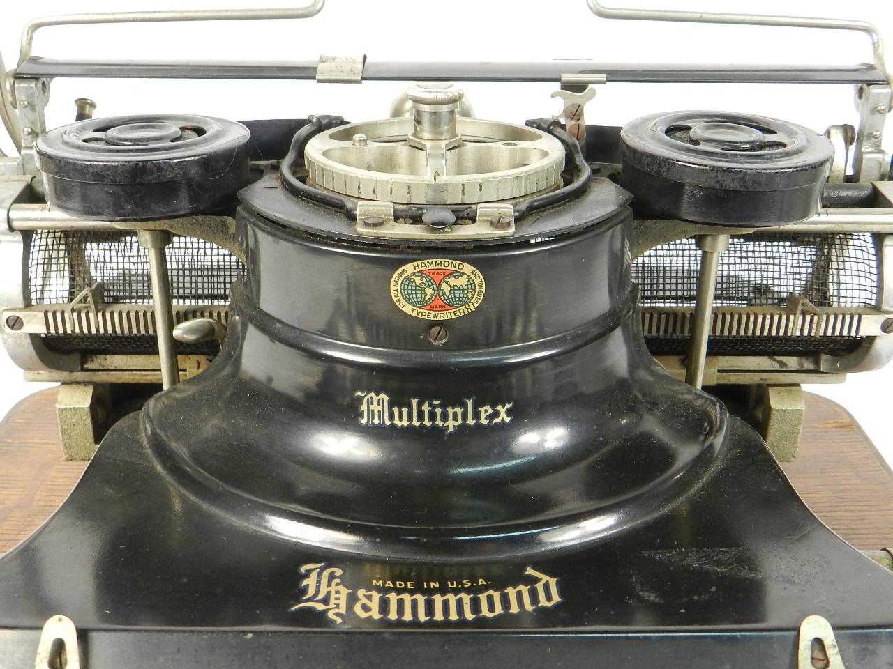 Imagen HAMMOND MULTIPLEX AÑO 1913 31359