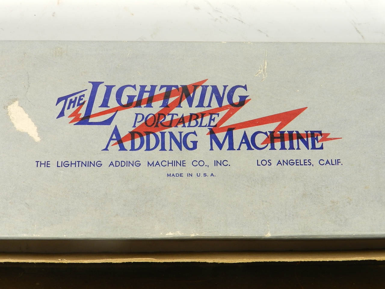 Imagen THE LIGHTNING ADDING MACHINE 31453