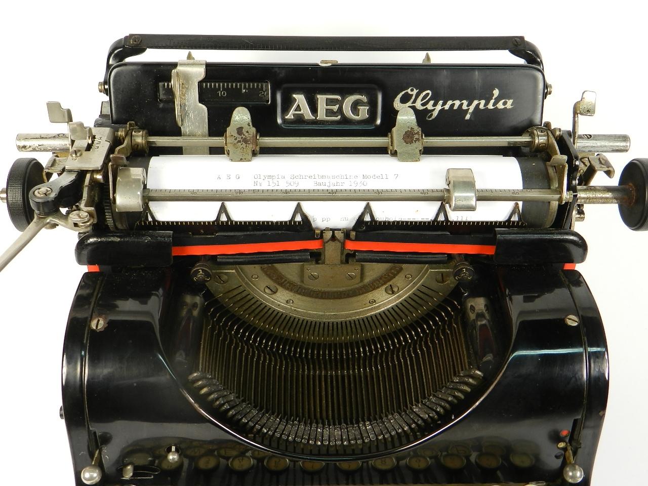 Imagen AEG OLYMPIA Nº7 AÑO 1930 31546