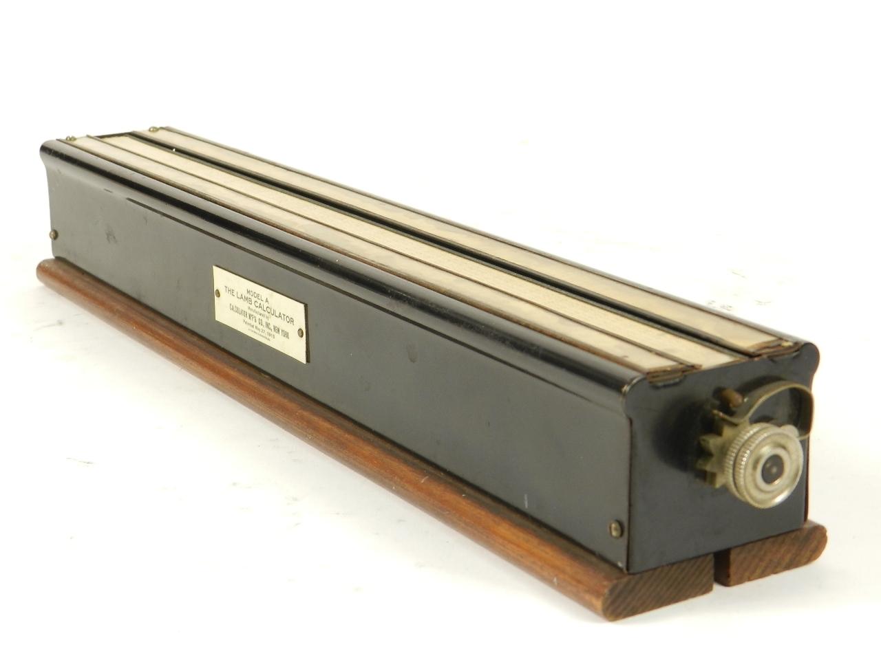 Imagen THE LAMB CALCULATOR AÑO 1913 31682