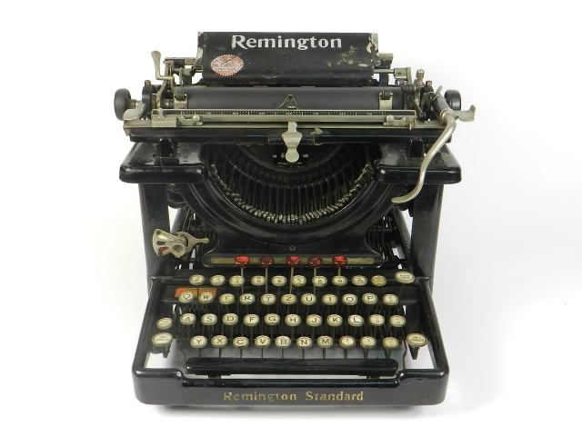 REMINGTON STANDARD AÑO 1915
