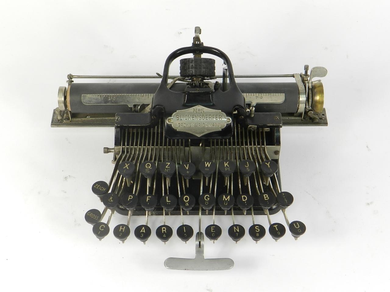Imagen BLICK  Nº5  AÑO 1893 32112