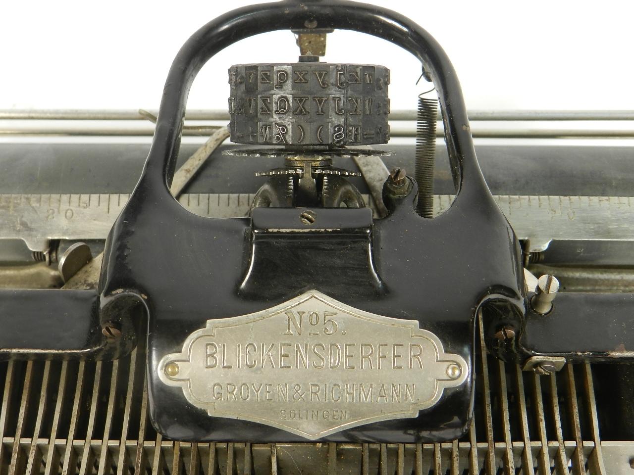 Imagen BLICK  Nº5  AÑO 1893 32115