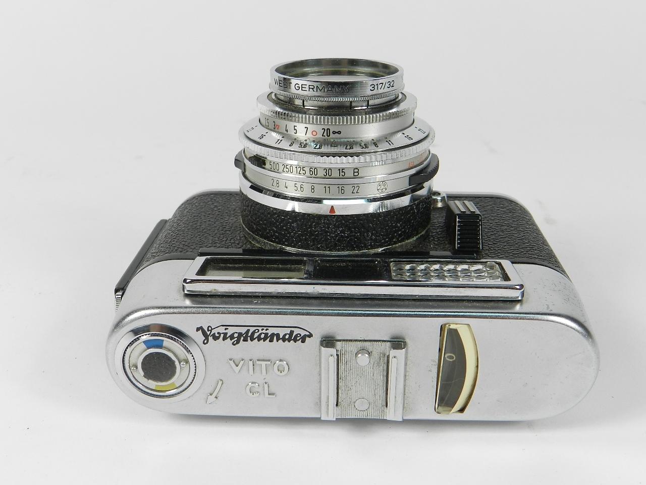 Imagen CÁMARA VOIGTLANDER VITO CL AÑO 1960 32258