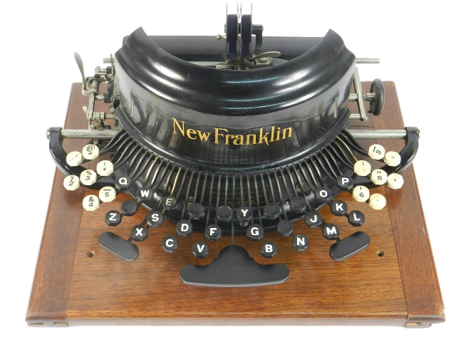 FRANKLIN Nº7  AÑO 1897