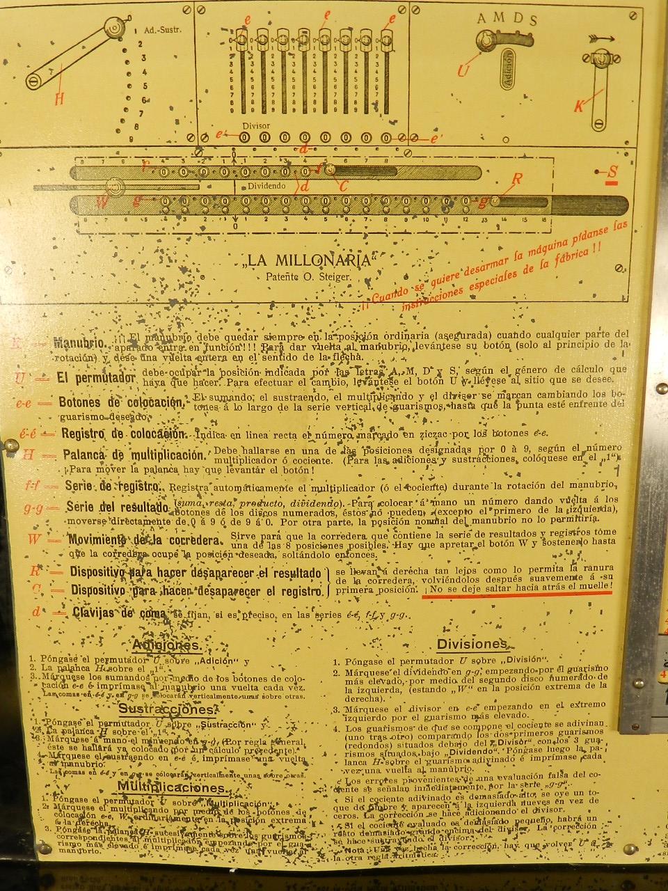 Imagen THE MILLIONAIRE  AÑO 1895 32401