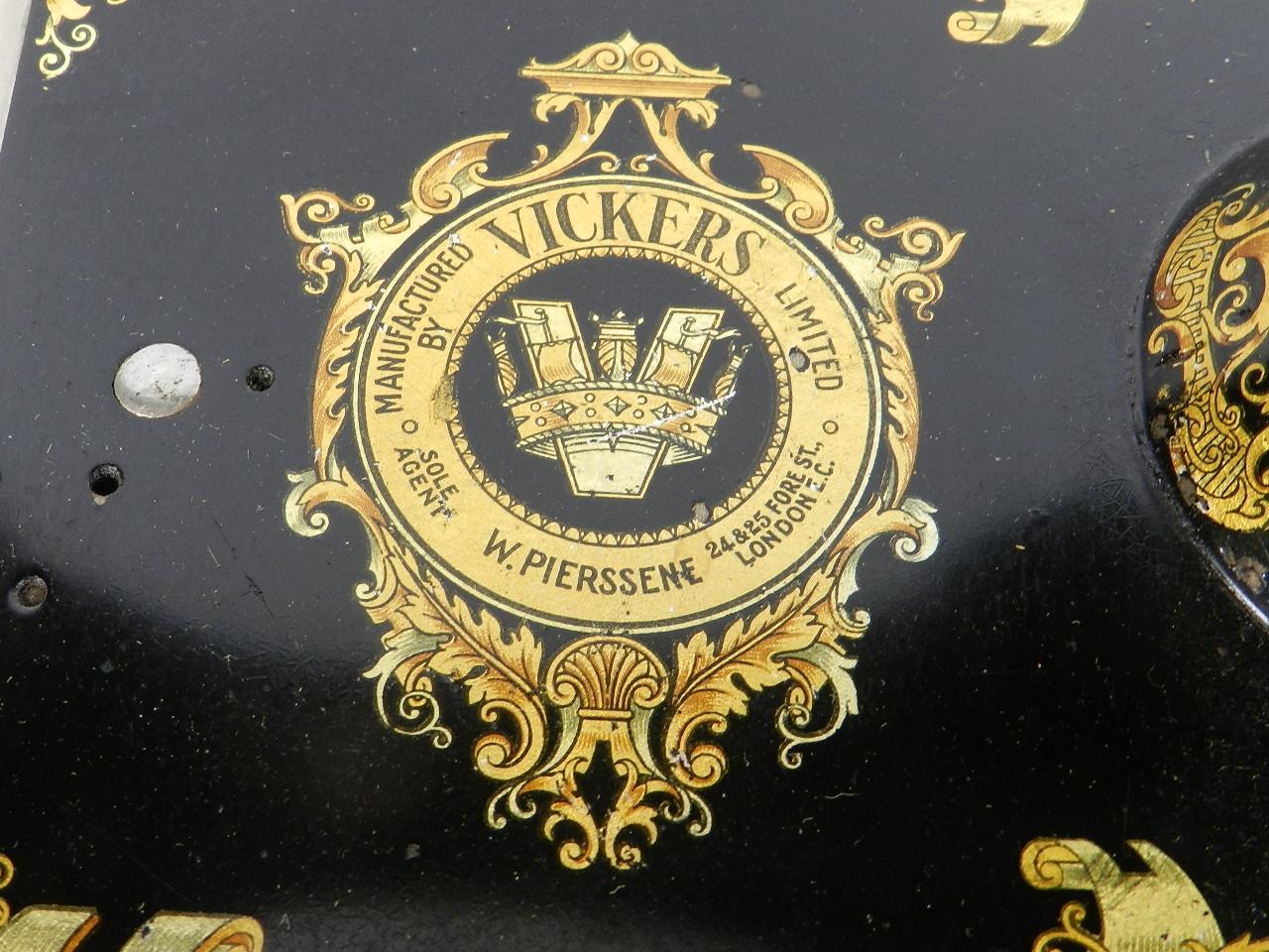 Imagen VICKERS AÑO 1915  LONDRES 32528