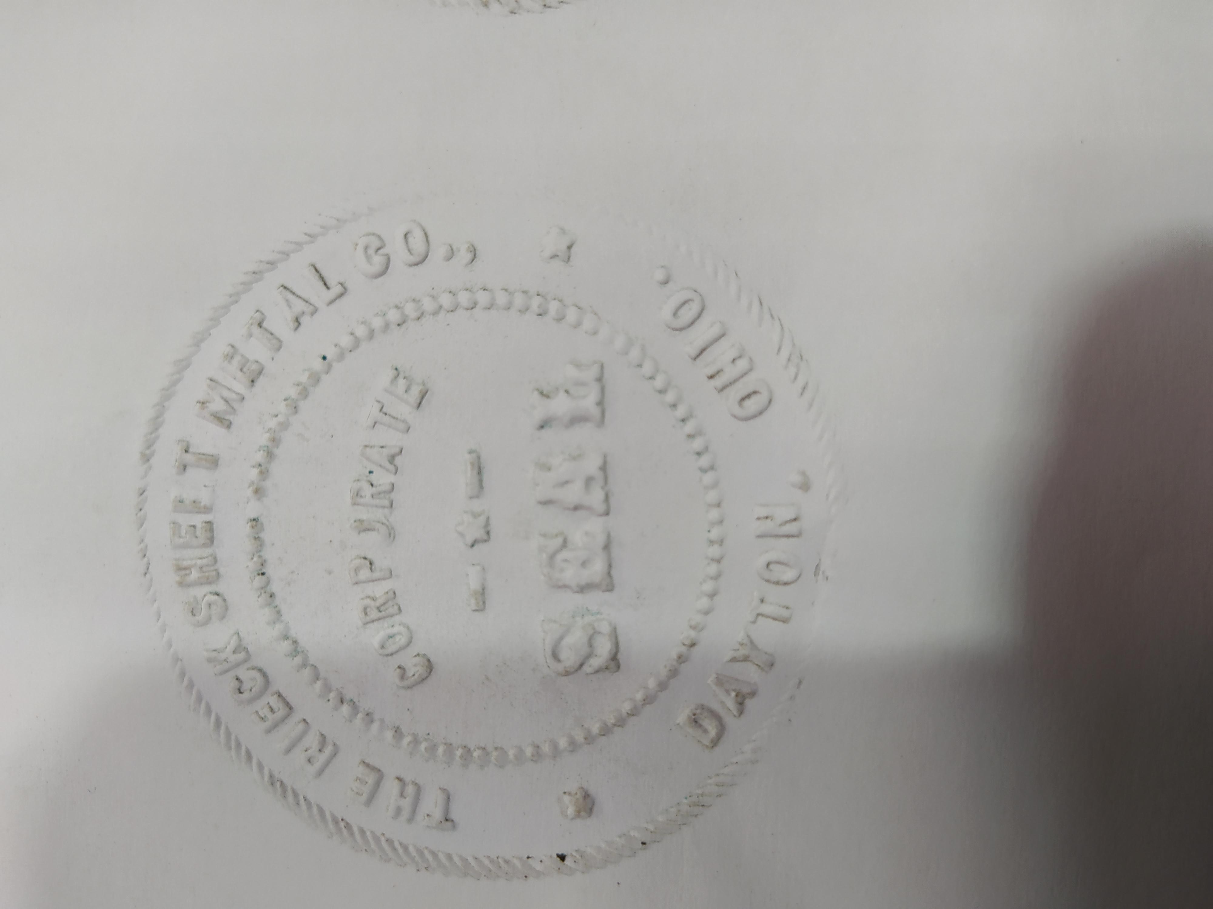 Imagen SELLO SECO CON FORMA DE LEON AÑO 1904 32606