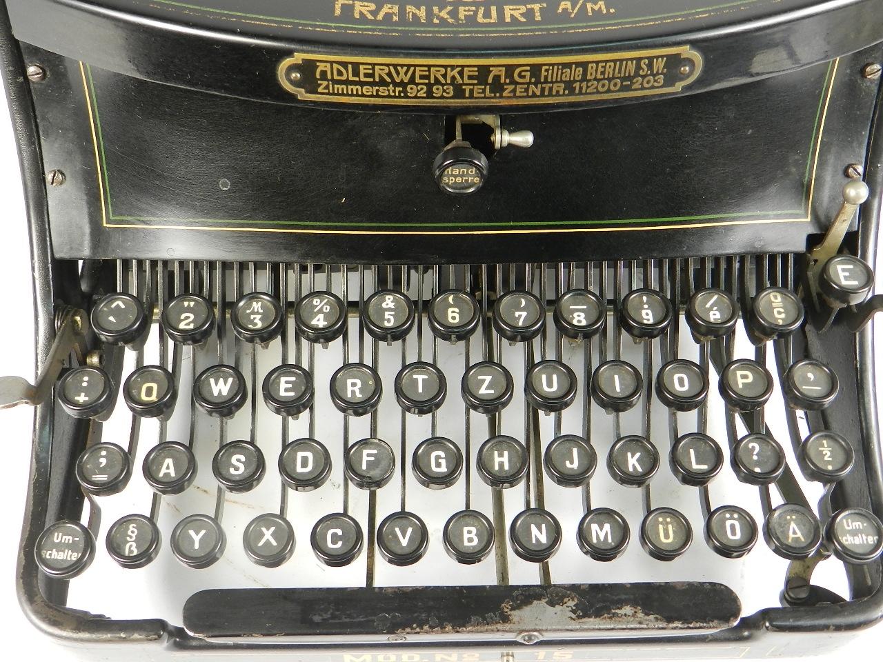 Imagen ADLER Mod.15 AÑO 1915 32712