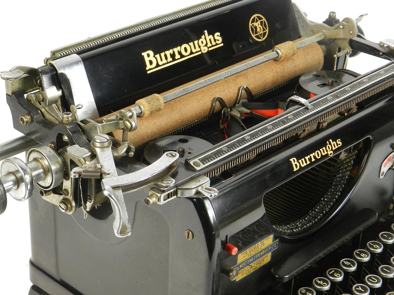 Imagen BURROUGHS STANDARD AÑO 1931   32806