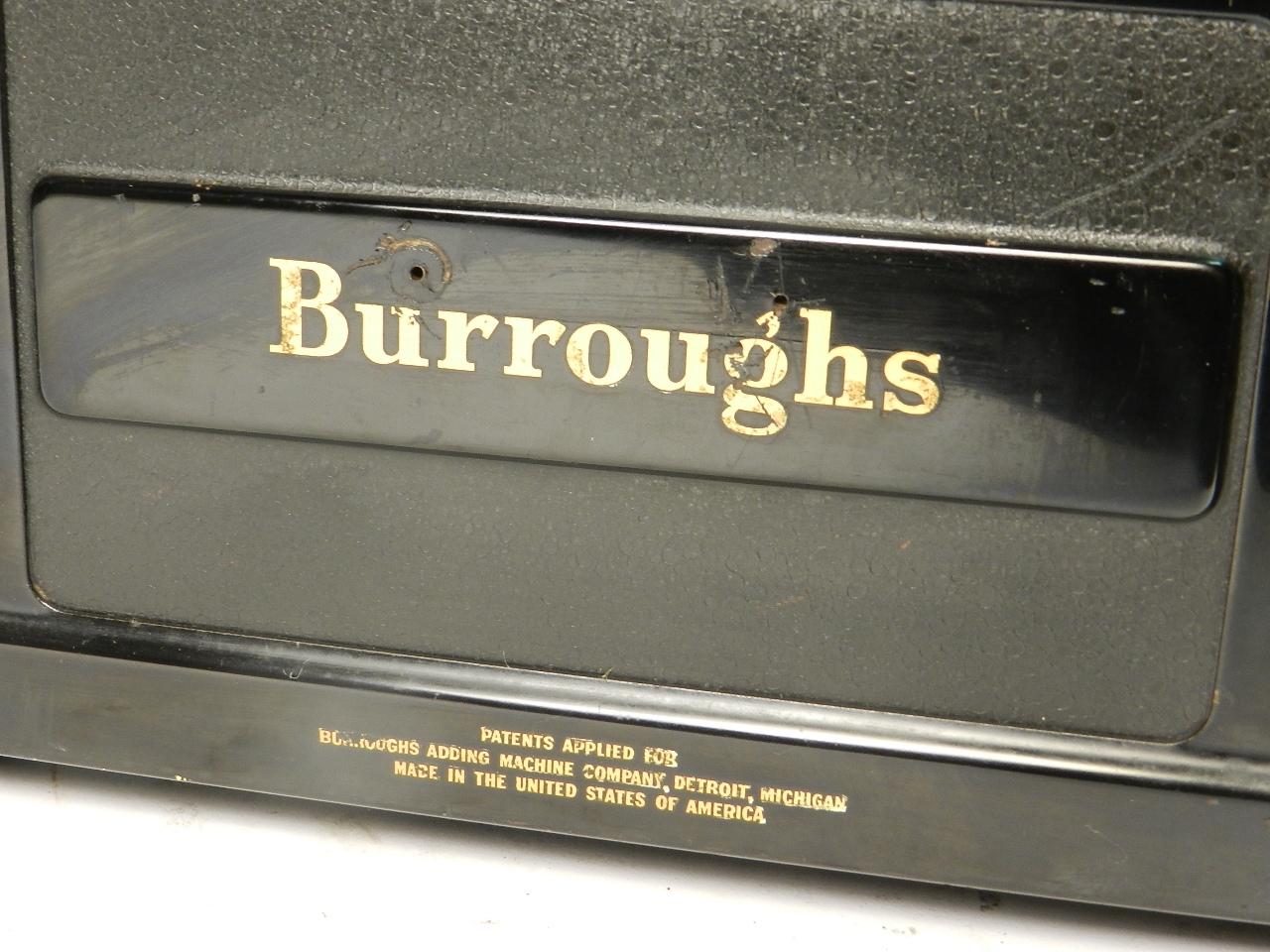 Imagen BURROUGHS STANDARD AÑO 1931   32809