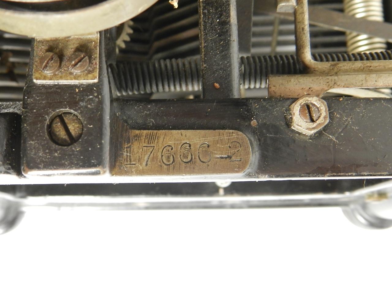 Imagen RARA  UNDERWOOD Nº2  AÑO 1905 32838