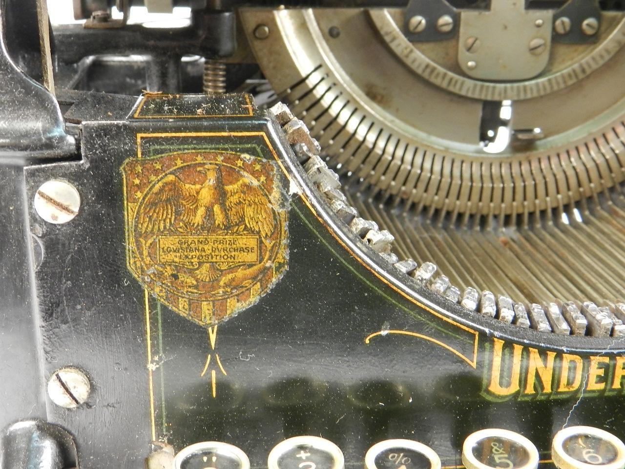 Imagen RARA  UNDERWOOD Nº2  AÑO 1905 32842