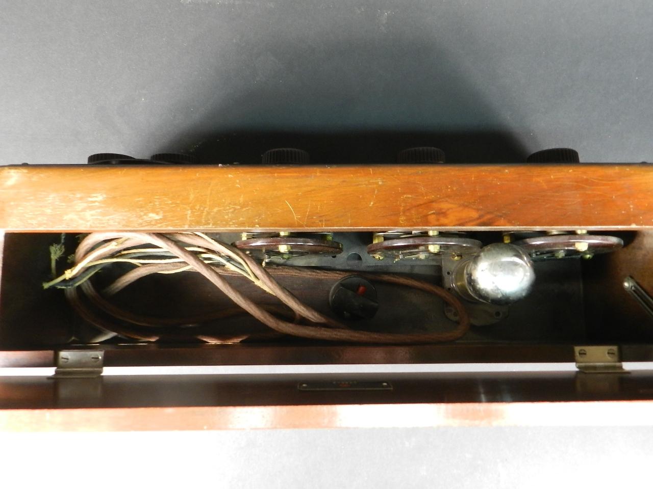 Imagen RADIO ATWATER KENT MODELO 20 + SPEAKER Mod.E 33064