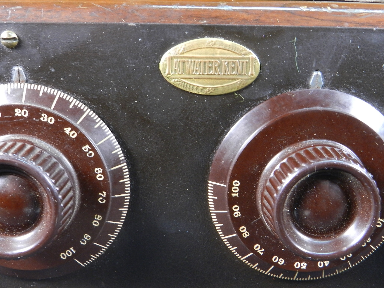 Imagen RADIO ATWATER KENT MODELO 20 + SPEAKER Mod.E 33069