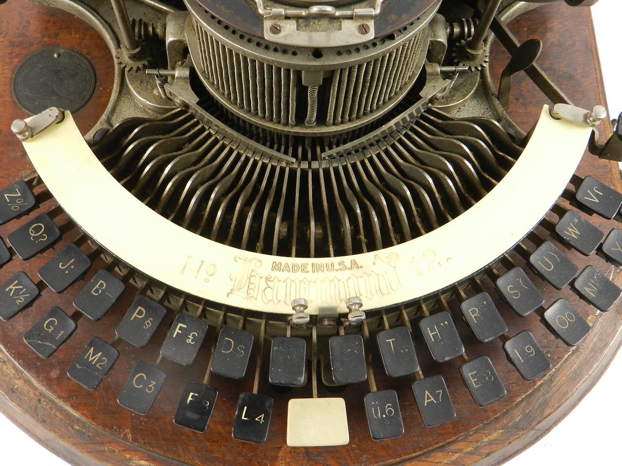 Imagen HAMMOND  Nº12 AÑO 1890  TECLADO CURVO 33326