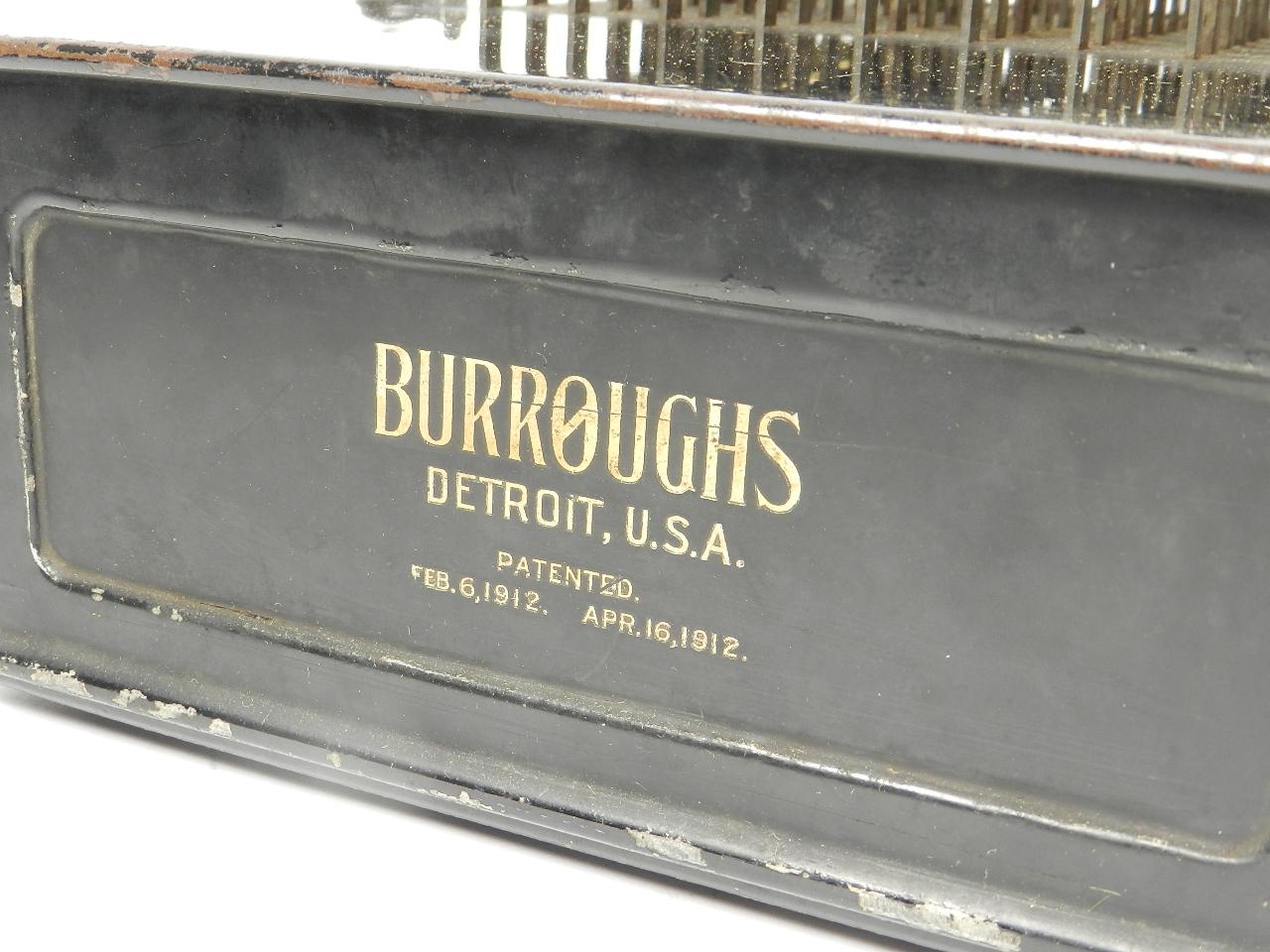 Imagen BURROUGHS AÑO 1915 33670